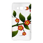 Flower Branch Nature Leaves Plant Samsung Galaxy A5 Hardshell Case