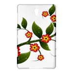 Flower Branch Nature Leaves Plant Samsung Galaxy Tab S (8.4 ) Hardshell Case