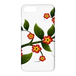 Flower Branch Nature Leaves Plant Apple iPhone 7 Plus Hardshell Case