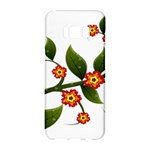 Flower Branch Nature Leaves Plant Samsung Galaxy S8 Hardshell Case