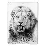 Lion Wildlife Art And Illustration Pencil iPad Air Hardshell Cases