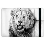 Lion Wildlife Art And Illustration Pencil iPad Air Flip