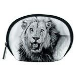 Lion Wildlife Art And Illustration Pencil Accessory Pouches (Medium)