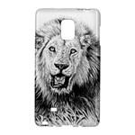 Lion Wildlife Art And Illustration Pencil Galaxy Note Edge