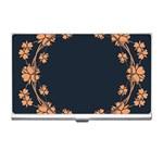 Floral Vintage Royal Frame Pattern Business Card Holders