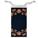 Floral Vintage Royal Frame Pattern Jewelry Bag