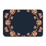 Floral Vintage Royal Frame Pattern Plate Mats