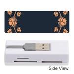 Floral Vintage Royal Frame Pattern Memory Card Reader (Stick)