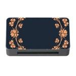 Floral Vintage Royal Frame Pattern Memory Card Reader with CF