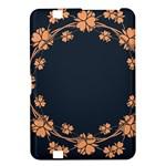 Floral Vintage Royal Frame Pattern Kindle Fire HD 8.9