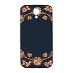 Floral Vintage Royal Frame Pattern Samsung Galaxy S4 I9500/I9505  Hardshell Back Case