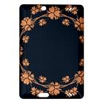 Floral Vintage Royal Frame Pattern Amazon Kindle Fire HD (2013) Hardshell Case