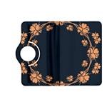 Floral Vintage Royal Frame Pattern Kindle Fire HD (2013) Flip 360 Case