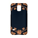 Floral Vintage Royal Frame Pattern Samsung Galaxy S5 Hardshell Case