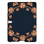 Floral Vintage Royal Frame Pattern Samsung Galaxy Tab S (10.5 ) Hardshell Case