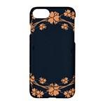 Floral Vintage Royal Frame Pattern Apple iPhone 7 Hardshell Case