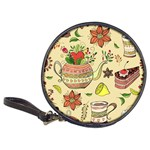 Colored Afternoon Tea Pattern Classic 20-CD Wallets