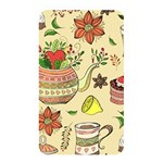Colored Afternoon Tea Pattern Memory Card Reader