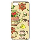 Colored Afternoon Tea Pattern Apple Seamless iPhone 5 Case (Clear)