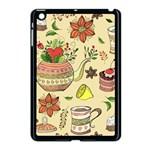 Colored Afternoon Tea Pattern Apple iPad Mini Case (Black)