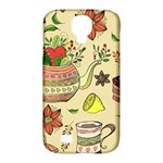 Colored Afternoon Tea Pattern Samsung Galaxy S4 Classic Hardshell Case (PC+Silicone)