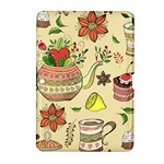 Colored Afternoon Tea Pattern Samsung Galaxy Tab 2 (10.1 ) P5100 Hardshell Case