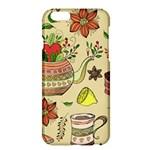 Colored Afternoon Tea Pattern Apple iPhone 6 Plus/6S Plus Hardshell Case