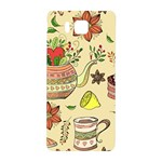 Colored Afternoon Tea Pattern Samsung Galaxy Alpha Hardshell Back Case
