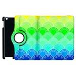 art deco rain bow Apple iPad 3/4 Flip 360 Case