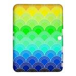 art deco rain bow Samsung Galaxy Tab 4 (10.1 ) Hardshell Case