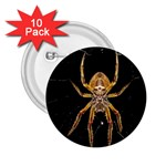 Insect Macro Spider Colombia 2.25  Buttons (10 pack)
