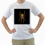 Insect Macro Spider Colombia Men s T-Shirt (White) (Two Sided)