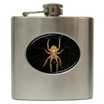 Insect Macro Spider Colombia Hip Flask (6 oz)