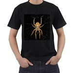 Insect Macro Spider Colombia Men s T-Shirt (Black) (Two Sided)