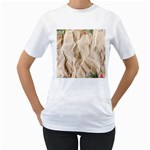 Paper 2385243 960 720 Women s T-Shirt (White) (Two Sided)