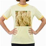 Paper 2385243 960 720 Women s Fitted Ringer T-Shirts