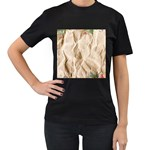 Paper 2385243 960 720 Women s T-Shirt (Black) (Two Sided)