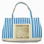 On Wood 2188537 1920 Striped Blue Tote Bag