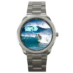 SURFING Surfer Surfboard Sports Boys Sport Metal Watch