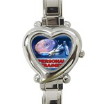 TRAINER Gym Dumbbell Weight Women Kid Heart Charm Watch