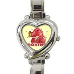 BOXING Sports Boxer Gloves Everlast Heart Charm Watch