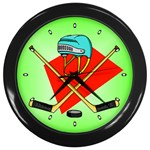 HOCKEY Ice Skate Puck Sports Girls TV  Wall Clock