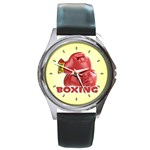 BOXING Sports Boxer Gloves Everlast Round Metal Watch