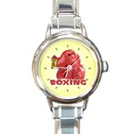 BOXING Sports Boxer Gloves Everlast Round Charm Watch