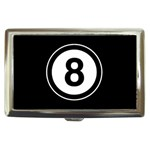Watch 8 BALL Pool Eight  Cigarette Money Case Box