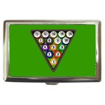 SNOOKER Game Billiard Art  Cigarette Money Case Box