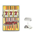 SLOT MACHINE Las Vegas Jackpot Flip Top Lighter