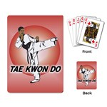 TAE KWON DO Martial Arts Karate Boys Playing Card