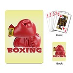 BOXING Sports Boxer Gloves Everlast Playing Card