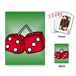 DICE Las Vegas Craps Poker Chips Card Playing Card